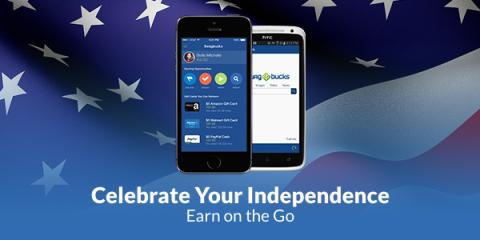 card212 Celebrate Your Independence   Earn on the Go