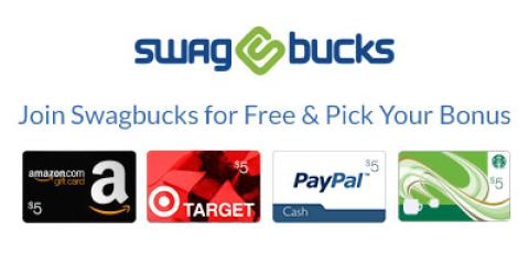 Join Swagbucks for Free & Pick Your Bonus