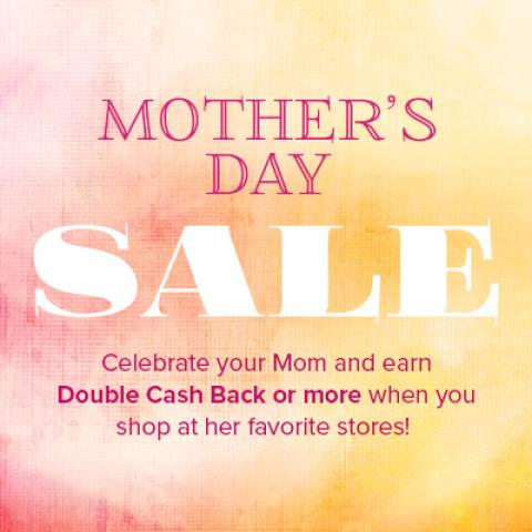 Double Cash Back at Swagbuck's Mother's Day Sale