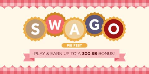 Swagbucks SWAGO: Pie Fest