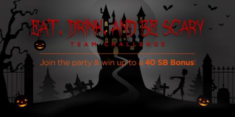 Swagbucks Team Challenge: Eat, Drink, and be Scary
