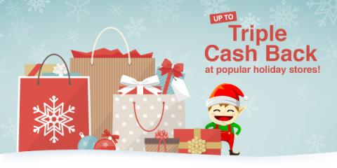Earn Double Cash Back or More on Holiday Shopping