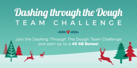 Team Challenge: Dashing Through the Dough