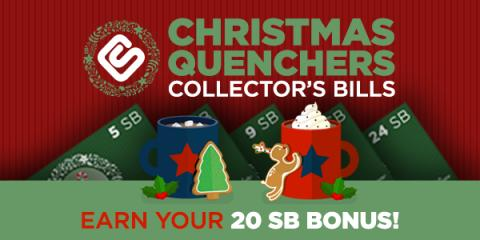 Christmas Quenchers Collector's Bills (INT)