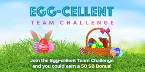 """Egg-cellent"" Team Challenge at Swagbucks"
