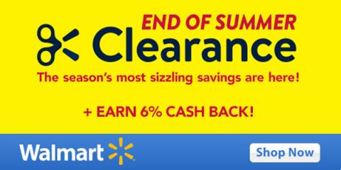 Walmart's Summer Savings - Even Better with Swagbucks