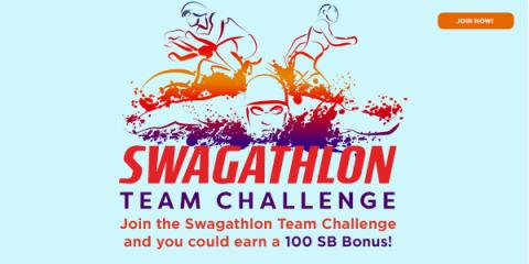 Swagathlon Team Challenge - begins Monday, July 17
