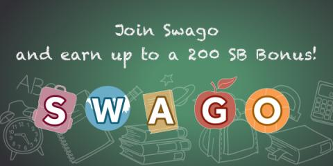 Earn Bonus SB with SWAGO
