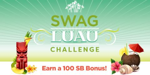 I may not be a great dancer, but I CAN do this Luau Team Challenge