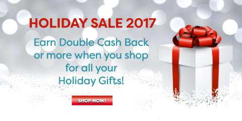 Get Double Cash Back on Your Holiday Shopping with Swagbucks