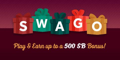 Need help saving on gift purchases? December Swago is here!