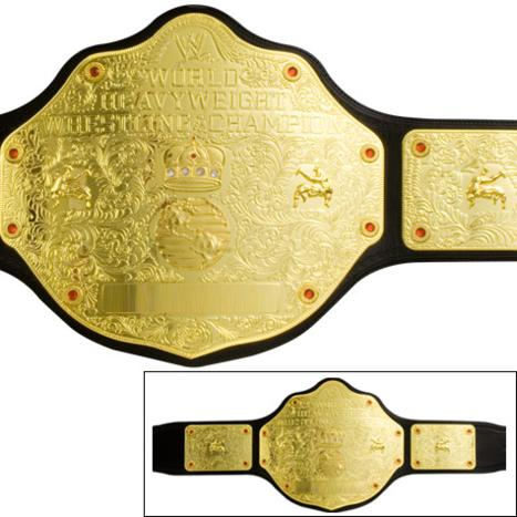 World Heavyweight Championship Belt Replica