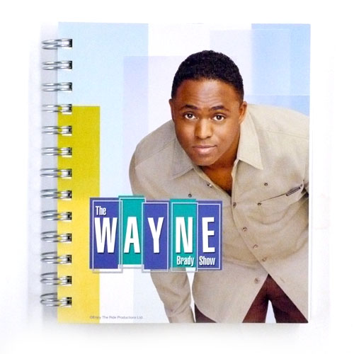"""Wayne Brady Show"" Notebook"