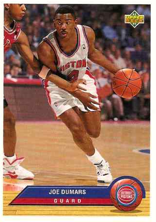 Joe Dumars Trading Card