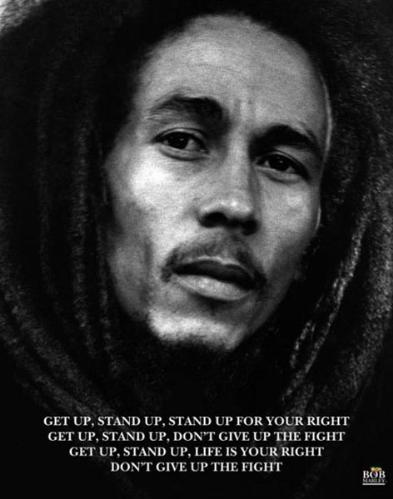 "Bob Marley - Get Up, Stand Up Poster (16"" x 20"")"