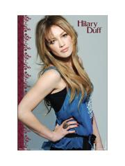 "Hilary Duff ""Dark"" Poster"