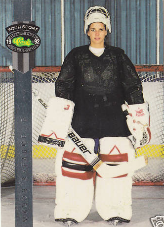 1992 Manon Rheaume (Pro Female Goalie) Rookie Card