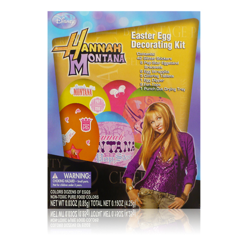 Hannah Montana Easter Egg Decoration Set