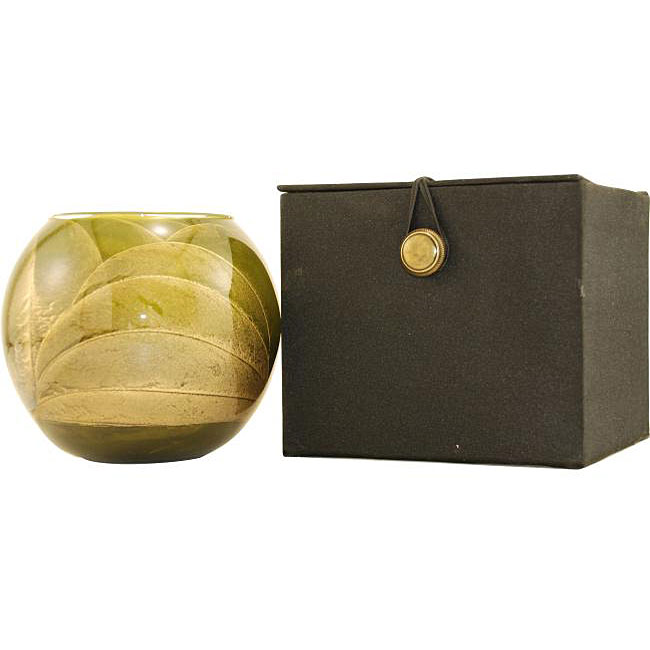 Olive Mysteria-Scented Globe Candle