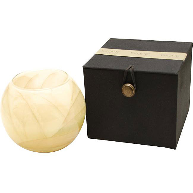 Ivory Mysteria-Scented Globe Candle