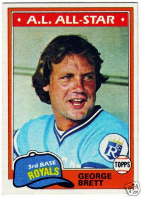 George Brett Trading Card