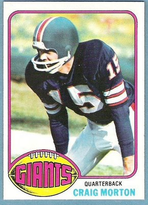 1976 Topps Football Card
