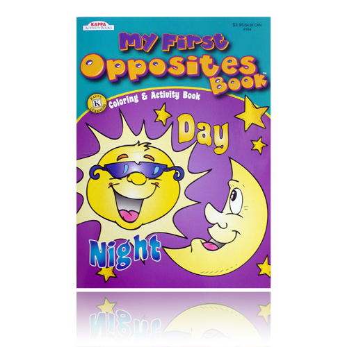 My First Opposites Book Coloring & Activity Book