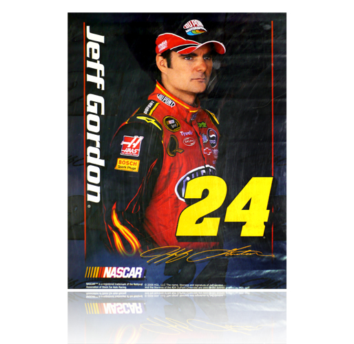 "Jeff Gordon Poster (17"" x 22"")"