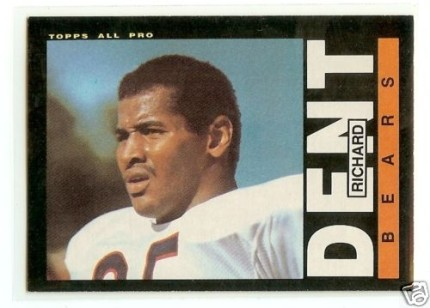 1985 Richard Dent Topps Rookie Card