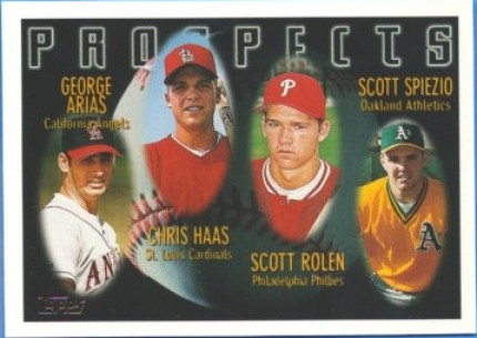 1996 Scott Rolen Topps Rookie Card