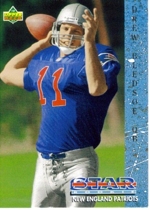 1993 Drew Bledsoe Upper Deck Rookie Card