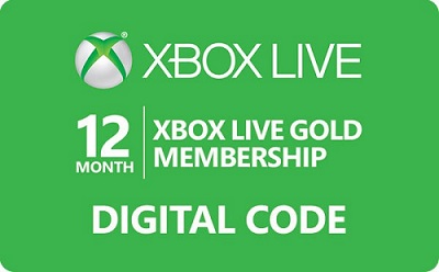 Xbox Live Gold Membership - 12 Month Subscription