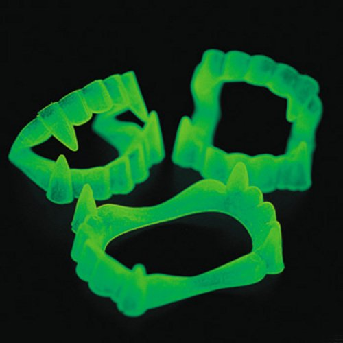 Glow-In-The-Dark Vampire Fangs