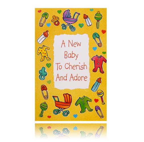 A New Baby To Cherish And Adore Greeting Card