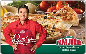 Papa John's eGift Card - $10