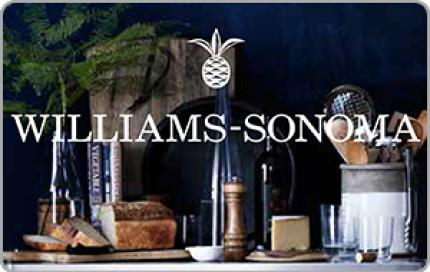 Williams-Sonoma e-Gift Card - $25