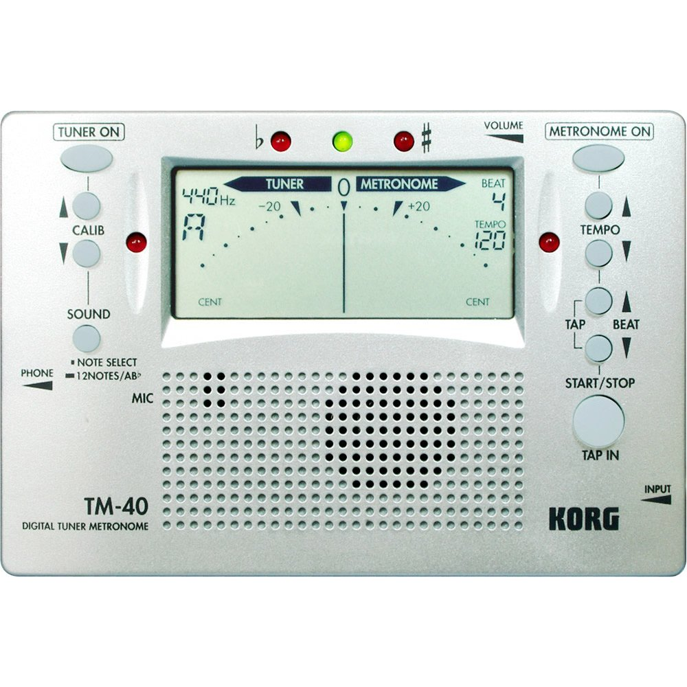 Korg TM-40 Digital Tuner and Metronome