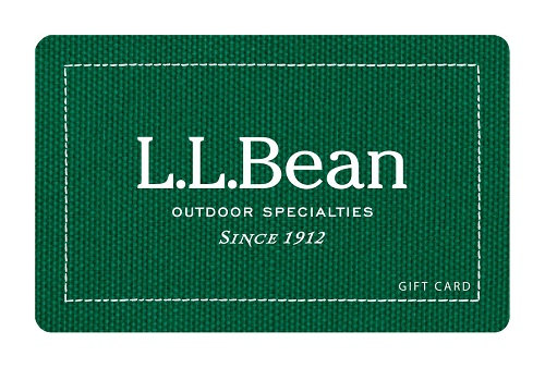 L.L.Bean eGift Card - $100