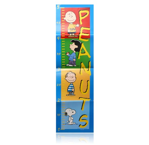 Peanuts 5 Ft Growth Chart