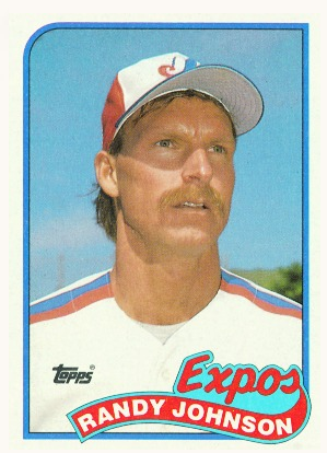 1989 Randy Johnson Topps Rookie Card