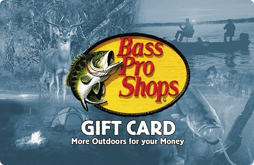 Bass Pro Shops eGift Card - $100