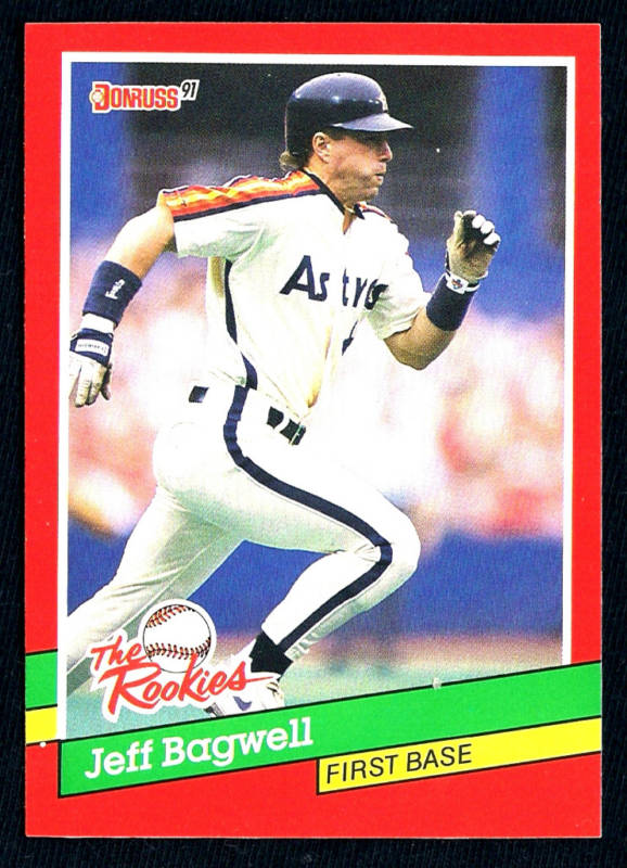 1991 Jeff Bagwell Donruss 'The Rookies' Rookie