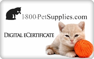 1-800-Pet Supplies.com eGift Card - $50
