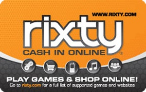 Rixty Online Entertainment $5 Gift Card