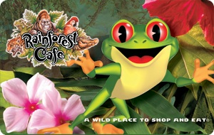 Rainforest Cafe $25 Gift Card