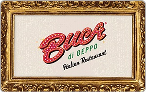 Sitewide Offer. Give the Gift of Traditional Italian Food with a Buca di Beppo Gift Card - starting at $