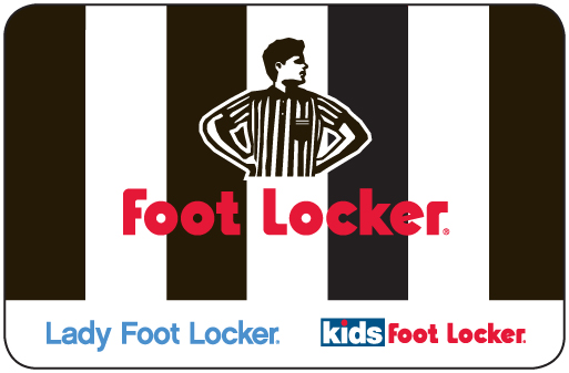 Foot Locker eGift Card - $100
