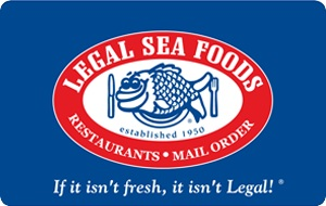Legal Sea Foods $25 Gift Card