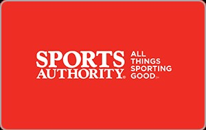 Sports Authority eGift Card - $25