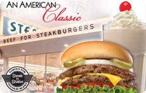 Steak 'n Shake eGift Card - $100